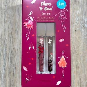Julep Sheer Lipgloss Paraben Free Gift Set Of Two